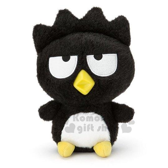 〔小禮堂〕酷企鵝 絨毛玩偶娃娃《M.黑白》擺飾.玩具.懷舊朋友系列 4901610-08608
