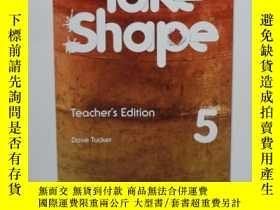 二手書博民逛書店TAKE罕見SHAPE 5 Teacher s EditionY