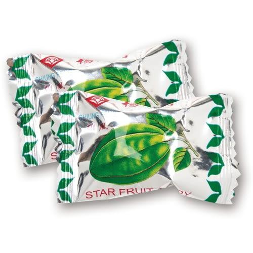 年貨大街 ‧散糖硬糖區‧ 原汁楊桃糖 300g(半斤)【合迷雅好物超級商城】