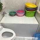 浴缸架浴缸架折疊式多功能浴缸置物架浴室防塵保溫蓋浴缸蓋板洗澡盆蓋 LX 【99免運】