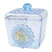 〔小禮堂〕角落生物方形壓克力拿蓋收納罐《藍冰淇淋》糖果罐置物罐飾品罐4930972 47293