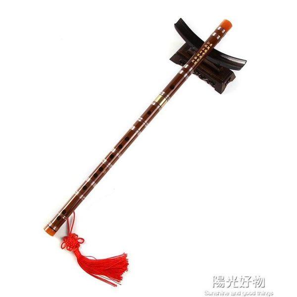 笛子竹笛樂器初學竹笛成人兒童初學者零基礎演奏精製橫笛專業 NMS陽光好物
