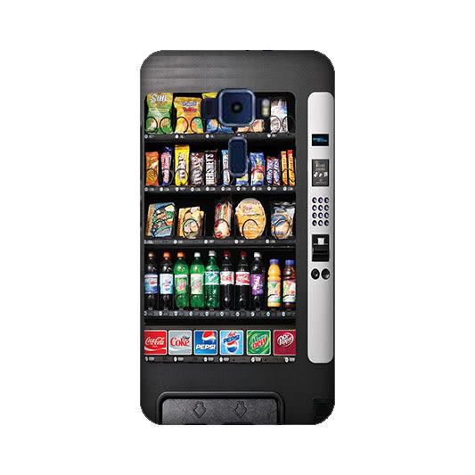 華碩 asus ZenFone3 ZE520KL Z017DA 手機殼 硬殼 自動販賣機