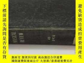 二手書博民逛書店THE罕見PHYSICAL REVIEW物理理論(1934)(合