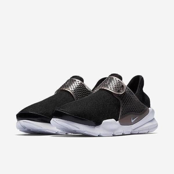 1[TellCathy]Nike sock dart BR 黑白 襪套 896446-001