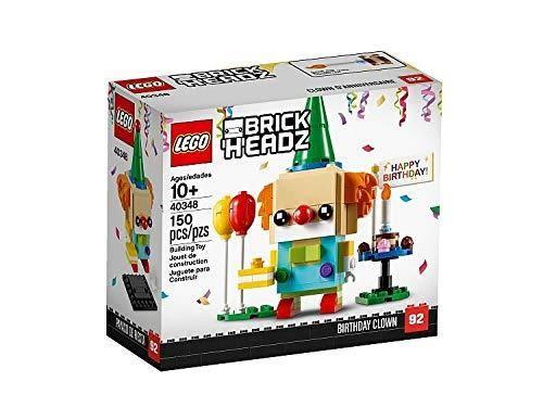 LEGO 樂高 BrickHeadz Happy Birthday Clown 40348 150 Pieces