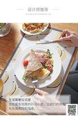 餐桌墊 隔熱墊餐桌墊西餐墊北歐防燙墊碗墊子PVC防水防油餐盤墊家用杯墊 99一件免運居家