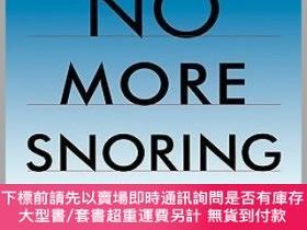二手書博民逛書店預訂No罕見More Snoring: A Proven Program For Conquering Snori