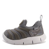 Nike Dynamo Free TD [AA7217-001] 小童鞋 慢跑 運動 休閒 舒適 透氣 毛毛蟲 灰白