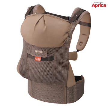 愛普力卡 Aprica 新生兒腰帶型四方向四用途揹巾 智慧棕