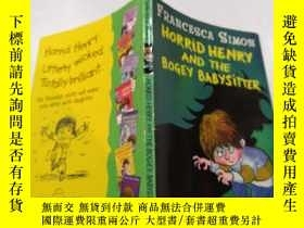 二手書博民逛書店horrid罕見henry and the bogey babysitter:可怕的亨利和那個可怕的保姆.Y2