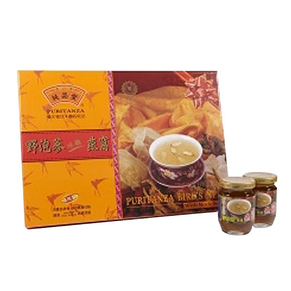 純品堂 野泡蔘冰糖燕窩禮盒(8瓶/盒)x1