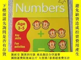 二手書博民逛書店Numbers罕見Age 3–5 (Collins Easy L