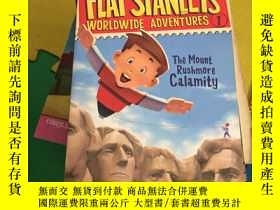 二手書博民逛書店Flat罕見Stanley s Worldwide Adven
