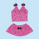 通販屋-KITTY桃色2截式裙子造型泳衣665633
