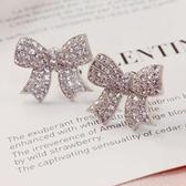 耳環 925純銀鑲鑽-典雅迷人生日情人節禮物女耳飾73du15【時尚巴黎】