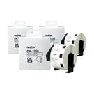 【三捲入】Brother DK-1226 定型標籤帶 29x52mm 白底黑字 食品專用不含螢光劑 適用全系列之QL標籤機