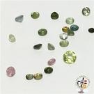 翠綠 碧璽 寶石 2-2.5mm 1顆【十方佛教文物】