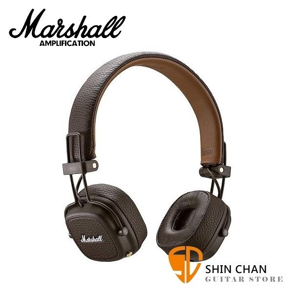 【缺貨】英國 Marshall Major III Bluetooth 藍芽耳罩式耳機 - 咖啡色 MajorⅢ / 公司貨保固 藍牙