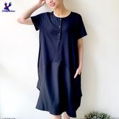 【春夏新品】American Bluedeer - 抓褶剪接洋裝 春夏新款