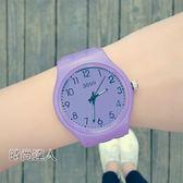 兒童手錶女孩男孩防潑水果凍石英腕錶WY熱賣夯款【全館85折】
