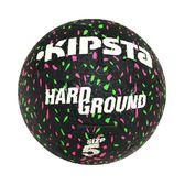 無縫輪胎材質硬地水泥地耐磨 KIPSTA硬地5號球街頭迪卡儂 足球5號