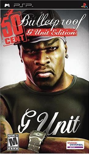 PSP 50 Cent Bulletproof: G Unit Edition 五角大帝:防彈特別版(美版代購)