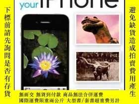 二手書博民逛書店Capturing罕見Better Photos and Video with your iPhoneY410