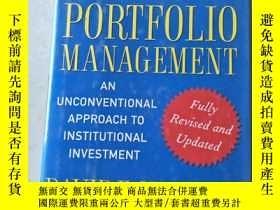 二手書博民逛書店罕見開拓投資組合的管理 Pioneering Portfolio Management: An Unconvent