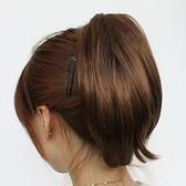 假馬尾-隱形抓夾式內彎短髮女假髮3色73rr53【巴黎精品】