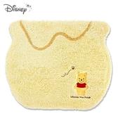 日本限定 丸真 迪士尼 小熊維尼 糖罐造型 地毯 地墊 坐墊