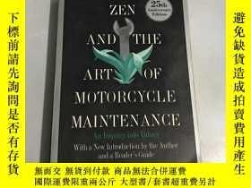 二手書博民逛書店zen罕見and the art of motorcycle maintenanceY20850 ROBERT