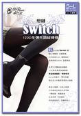 【蒂巴蕾】Switch 120D 全彈天鵝絨褲襪 戀鏈 (6入組)