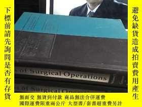二手書博民逛書店Atlas罕見of Surgical Operations Vo