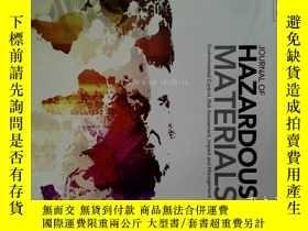 二手書博民逛書店Journal罕見of Hazardous Materials 15 09 2017 危險材料學學術期刊Y14