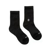 H2O LAB CREW COCKS 黑色 純色 中高筒襪 男女 (布魯克林) 20SS01BK