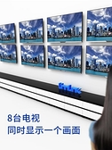 hdmi分配器一分8一拖四1進8出高清視頻分頻分線器1080p電視賣場3d-享家