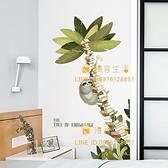 墻壁貼畫自粘臥室書房墻面布置墻貼紙沙發背景墻裝飾【慢客生活】