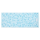 小禮堂 大耳狗 抗菌浴巾 45x110cm (藍滿版款) 4550337-80085