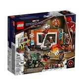 76185【LEGO 樂高積木】Marve 英雄系列 - 聖殿工廠的蜘蛛俠