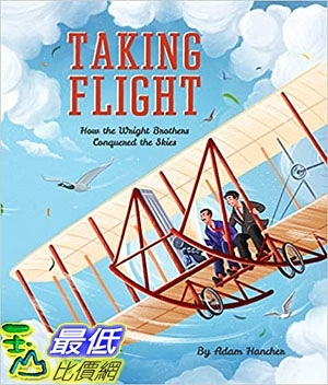 2018 amazon 亞馬遜暢銷書 Taking Flight: How the Wright Brothers Conquered the Skies