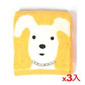★3件超值組★NON-NO無撚紗天狗毛巾-黃色(34*75cm)【愛買】