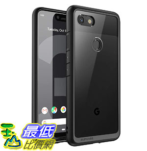 手機保護殼 Google Pixel 3 XL Case,SUPCASE Unicorn Beetle Style Series Clear Protective TPU Bumper PC