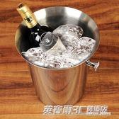 加厚不銹鋼冰桶 香檳桶吐酒桶冰塊桶經典歐式冰塊桶 送冰夾ATF限時下殺8.8摺