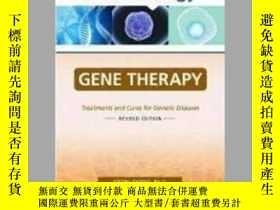 二手書博民逛書店Gene罕見Therapy: Treatments and Cures for Genetic Diseases-