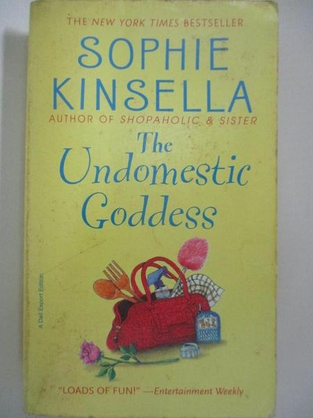 【書寶二手書T7/原文小說_BWH】Undomestic Goddess_Sophie Kinsella