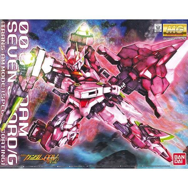 鋼彈組裝模型 MG 1/100 00鋼彈Seven sword G七劍 TRANS-AM特殊鍍膜版 00V TOYeGO 玩具e哥