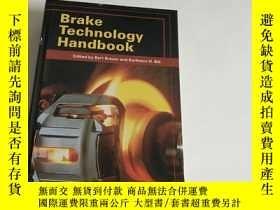 二手書博民逛書店Brake罕見Technology HandbookY13534