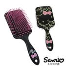 【日本進口正版】Hello Kitty 凱蒂貓 黑甜心款 頭皮 按摩梳 梳子 三麗鷗 Sanrio - 019961