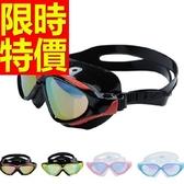 泳鏡-抗UV比賽防霧浮潛游泳蛙鏡4色56ab49【時尚巴黎】